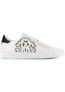 Roberto Cavalli logo patch sneakers