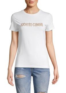 Roberto Cavalli Logo Stretch Tee