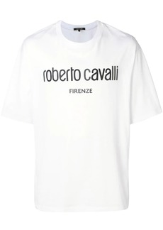 Roberto Cavalli logo T-shirt