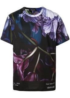 Roberto Cavalli Marchito print T-shirt