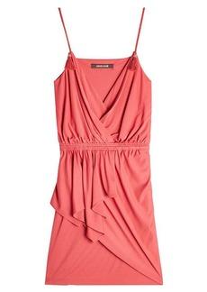 Roberto Cavalli Mini Dress with Silk