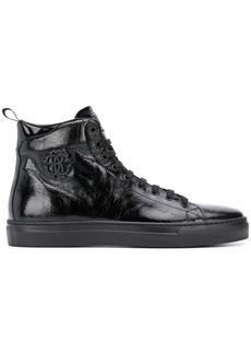 Roberto Cavalli monogram detail ankle boots