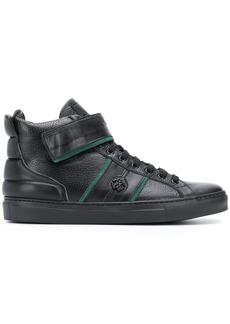Roberto Cavalli monogram detail zip up ankle boots