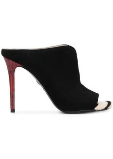 Roberto Cavalli peep toe sandals