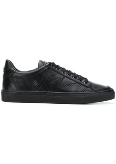 Roberto Cavalli perforated low-top sneakers