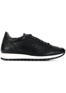 Roberto Cavalli perforated runner sneakers