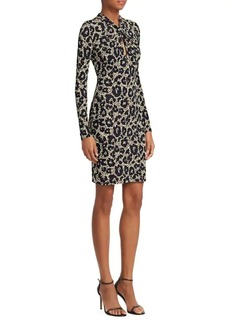 Roberto Cavalli Print Lycra Bodycon Dress