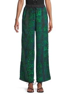 Roberto Cavalli Printed Coverup Pants