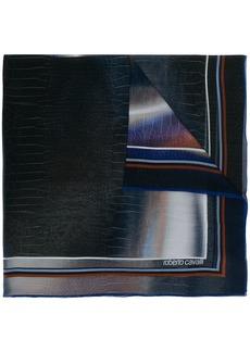 Roberto Cavalli printed scarf