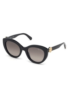Roberto Cavalli Acetate Cat-Eye Sunglasses