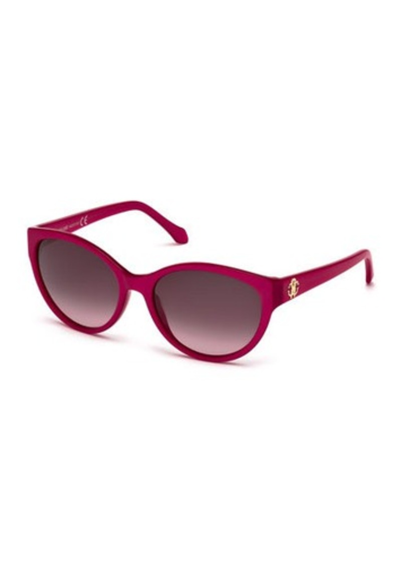 Roberto Cavalli Alrischa Plastic Cat-Eye Sunglasses