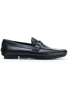 Roberto Cavalli buckled loafers - Black