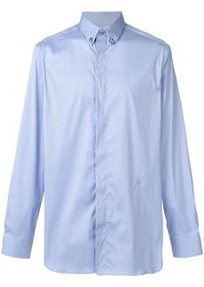 Roberto Cavalli classic plain shirt - Blue