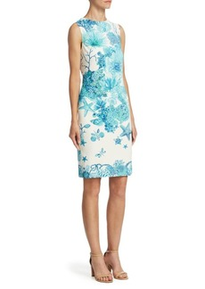 Roberto Cavalli Coral Reef Dress