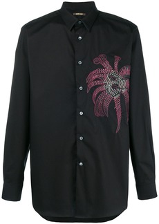 Roberto Cavalli embroidered shirt - Black