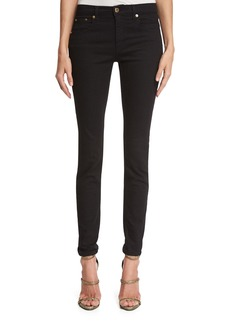 Roberto Cavalli Five-Pocket Denim Leggings