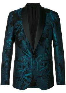 Roberto Cavalli floral jacquard evening blazer - Black