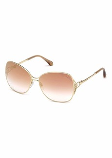 Roberto Cavalli Gradient Butterfly Sunglasses