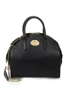 Roberto Cavalli Grainy Leather Tote Bag