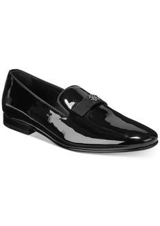 Roberto Cavalli Men's Bow Tie Patent Slip-On Shoes Men's Shoes