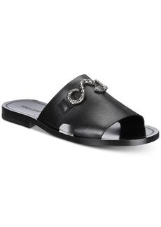 Roberto Cavalli Men's Giamaica Leather Sandals Men's Shoes