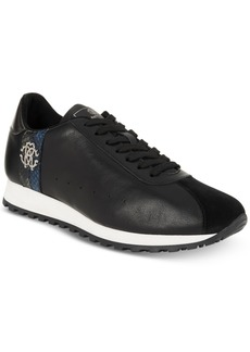Roberto Cavalli Men's Leather Running Sneakers Men's Shoes
