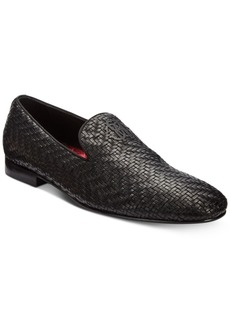 Roberto Cavalli Men's Night Woven Leather Loafers Men's Shoes