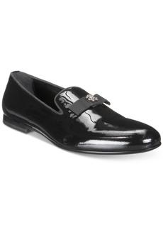 Roberto Cavalli Men's Patent Bow Loafer Men's Shoes