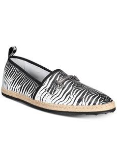 Roberto Cavalli Men's Zebra Espadrilles Slip-Ons Men's Shoes