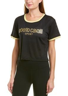 Roberto Cavalli Mesh Crop Top
