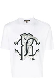 Roberto Cavalli printed T-shirt - White