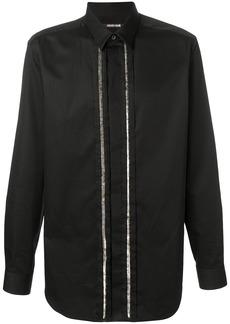 Roberto Cavalli sequin embellished shirt - Black