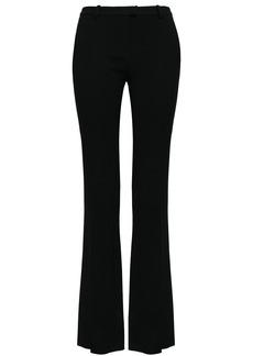 Roberto Cavalli Woman Crepe Bootcut Pants Black