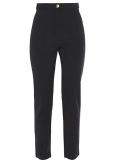 Roberto Cavalli Woman Crepe Slim-leg Pants Black