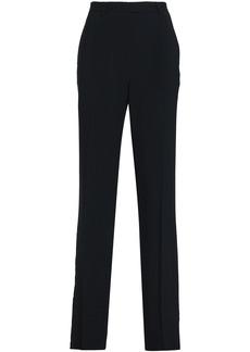 Roberto Cavalli Woman Crepe Tapered Pants Black