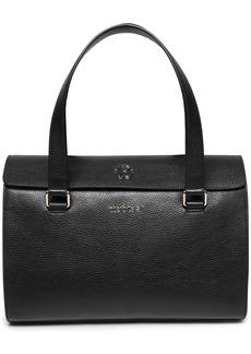 Roberto Cavalli Woman Pebbled-leather Shoulder Bag Black