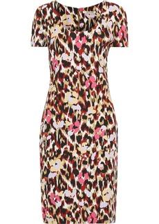 Roberto Cavalli Woman Printed Cady Dress Animal Print