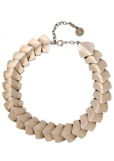 Roberto Cavalli Woman Snake Scale Burnished Silver-tone Bracelet Silver
