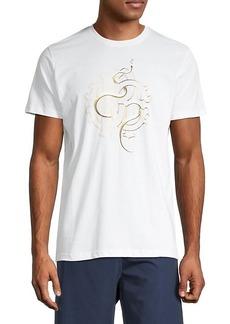 Roberto Cavalli Short-Sleeve Graphic T-Shirt