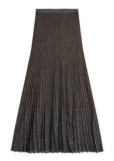 Roberto Cavalli Skirt with Metallic Thread