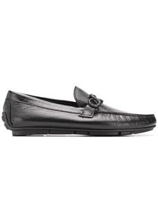 Roberto Cavalli snake detail loafers