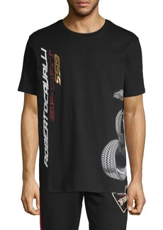 Roberto Cavalli Snake Graphic T-Shirt