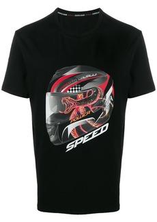 Roberto Cavalli Speed print T-shirt