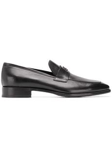 Roberto Cavalli square toe loafers
