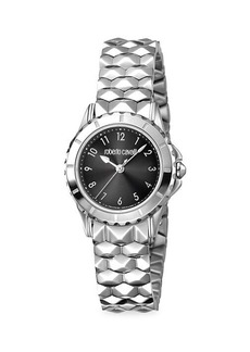 Roberto Cavalli Stainless Steel Bracelet Watch