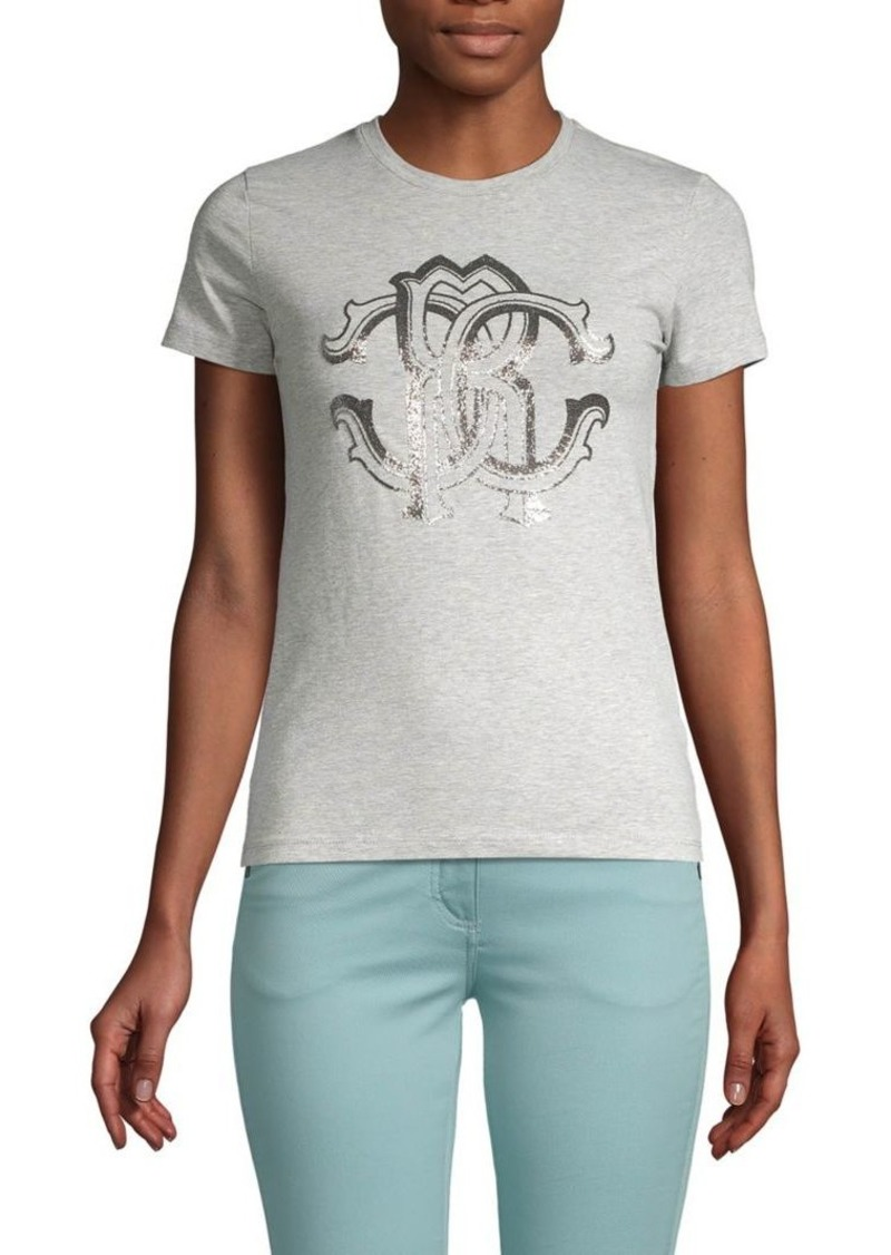 Roberto Cavalli Stretch Graphic Tee