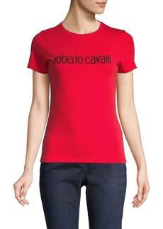 Roberto Cavalli Stretch Logo Tee