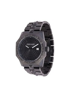 Roberto Cavalli studded watch