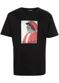 Roberto Cavalli Surreal print T-shirt