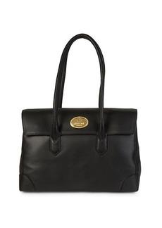 Roberto Cavalli Textured Leather Handbag